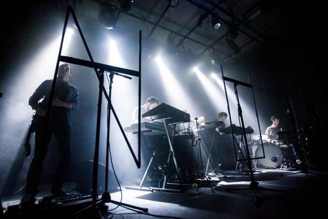Concert du groupe N U I T, samedi 13 décembre au Tetris, au Havre.