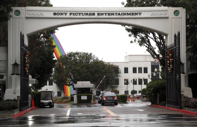 Le siège du studio Sony Pictures Entertainment à Culver City, Californie (AP Photo/Nick Ut, File)
