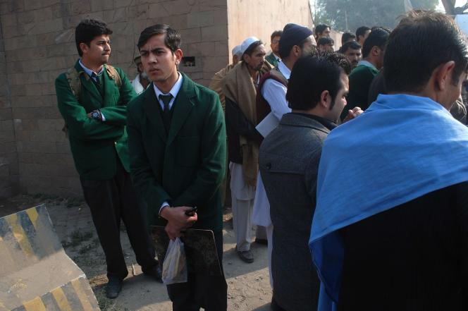 A Peshawar, le 16 décembre.