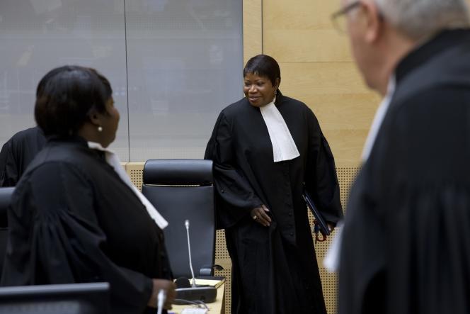 La procureure de la Cour pénale internationale, Fatou Bensouda, à LaHaye, le 8octobre.