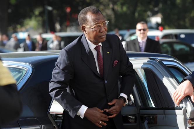 Idriss Déby, le 7 février 2014 à Tunis.
