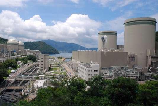 La centrale nucléaire de Takahama, dans le centre du Japon, en juin 2013.