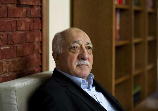 Fethullah Gülen le 15 mars 2014 dans sa résidence de Pennsylvanie, où il réside depuis 1999.