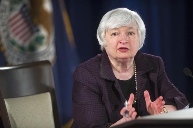 Janet Yellen, gouverneure de la Banque centrale américaine, a annoncé que la Fed fera preuve de