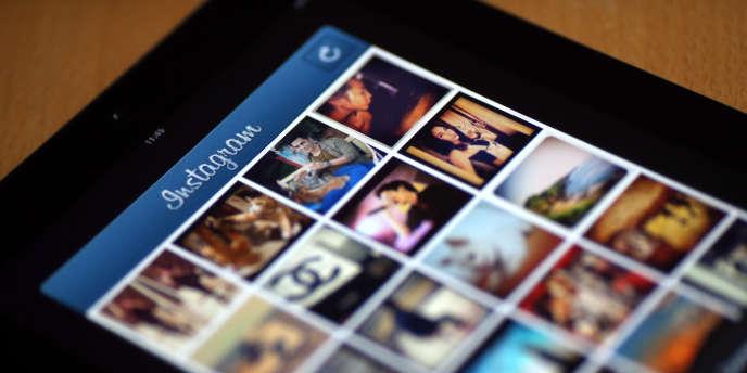 Un fil Instagram, réseau social qui pèse désormais plus lourd que Twitter.