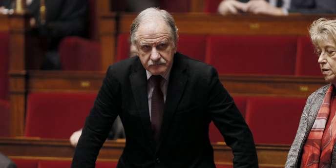 Le député écologiste Noël Mamère, à l'Assemblée nationale, le 17 décembre.