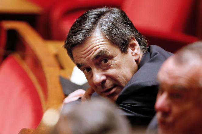 François Fillon à l'Assemblée nationale le 7 décembre 2014.
