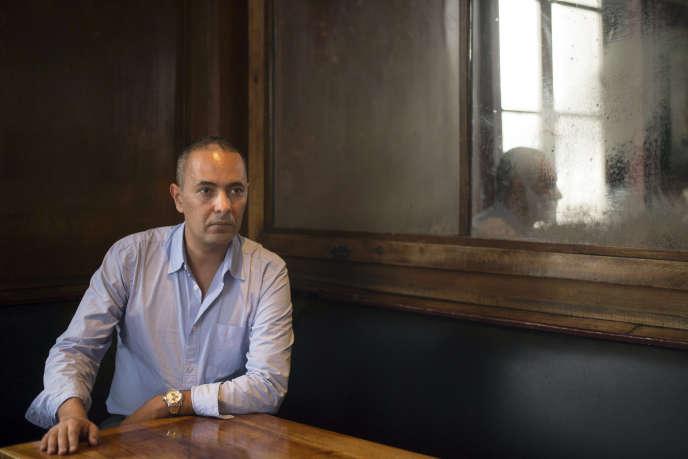 Kamel Daoud, à Marseille, France, le 14 octobre 2014.