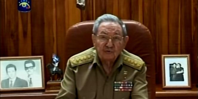« Nous avons décidé de rétablir les relations avec les Etats-Unis », a dit presque au même moment Raul Castro.