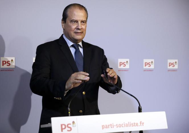 Jean-Christophe Cambadélis, premier secrétaire du PS, le 23 octobre à Paris.