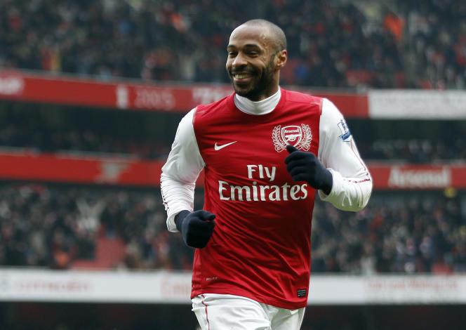 Thierry Henry est l'une des légendes des Gunners d'Arsenal.