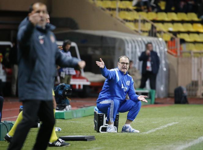 L'entraîneur de l'OM Marcelo Bielsa le 14 décembre.