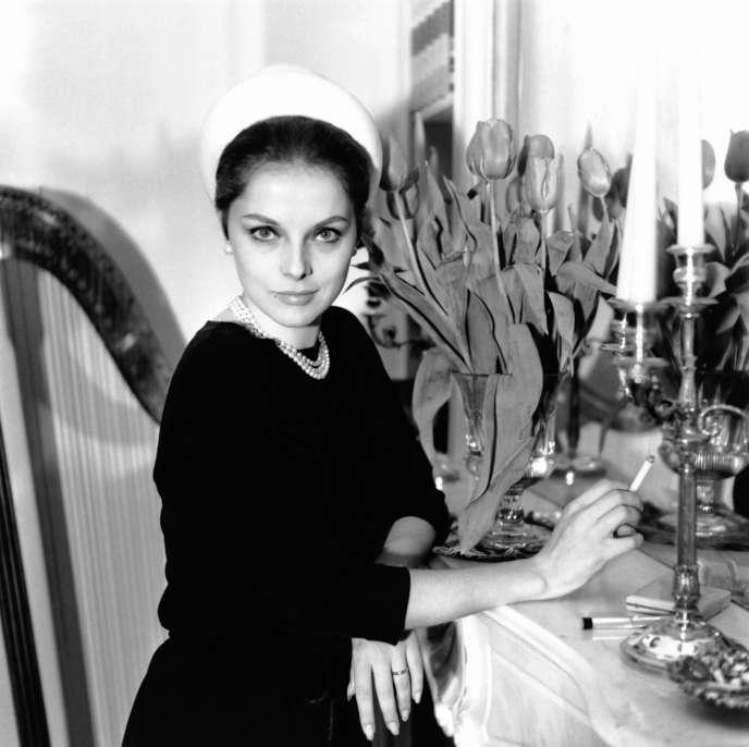 L'actrice italienne Virna Lisi, en 1963.