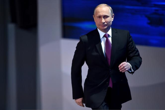 Une sortie de crise est «inévitable», en premier lieu parce que l'économie mondiale continue de croître, a expliqué le président russe en ouvrant sa conférence de presse annuelle.