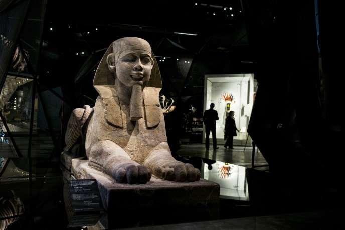 Au Musée des Confluences, le 18 décembre, à Lyon.