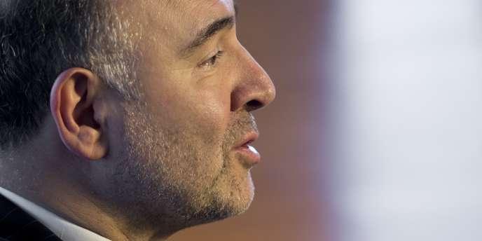 Pierre Moscovici, le commissaire européen en charge de l'économie et de la fiscalité.