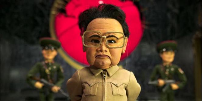 Kim Jong-il dans le film «Team America: World Police».