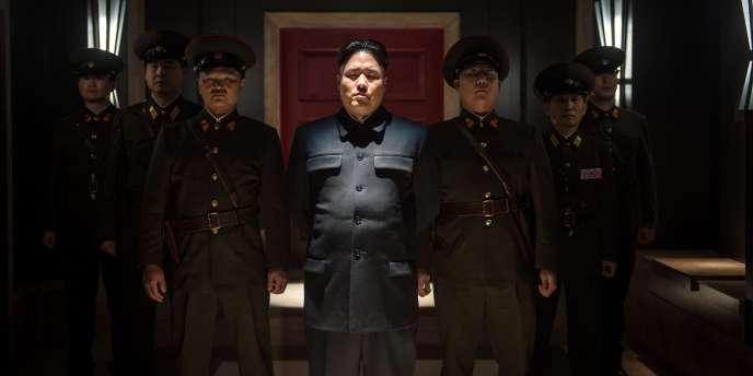 Une scène du film «The Interview» sorti le 25 décembre aux Etats-Unis.