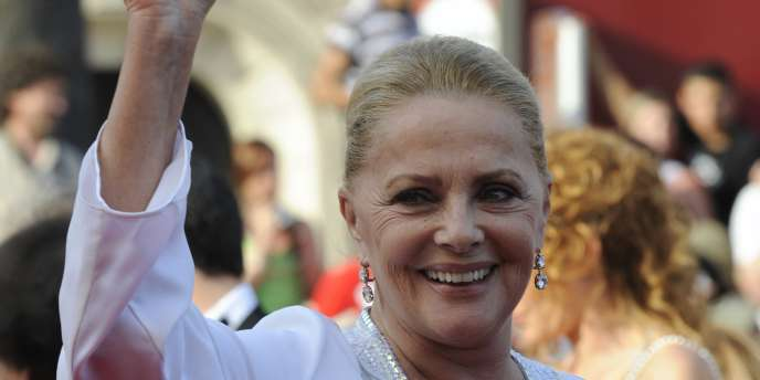 Virna Lisi, en mai 2009, à Hollywood.