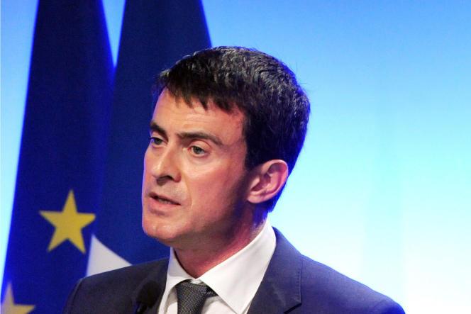 Manuel Valls à Brest le 18 décembre.