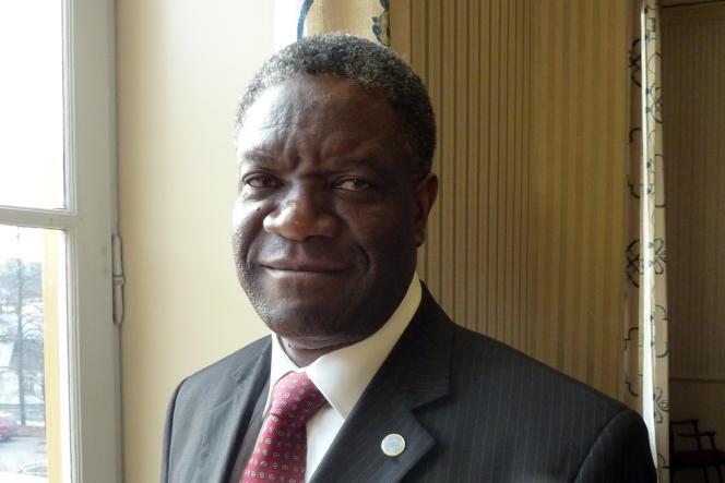 Le gynécologue congolais Denis Mukwege est récompensé par le prix Sakharov du Parlement européen.