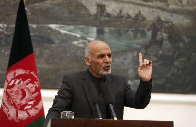 Ashraf Ghani, le président afghan, élu en septembre 2014, a fait de la défense des droits de la femme l'une de ses priorités.