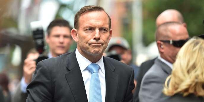 Le premier ministre australien, Tony Abbott, le 16 décembre à Sydney.