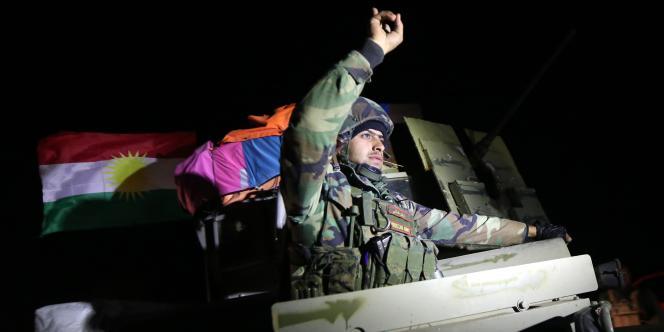 Appuyés par la coalition internationale, les combattants kurdes ont remporté une victoire importante sur les djihadistes de l'Etat islamique dans le nord de l'Irak.