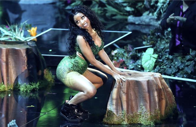 Nicki Minaj lors des MTV Video Music Awards à Inglewood (Californie), le 24 août 2014.