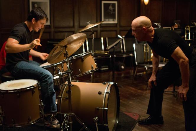 Miles Teller et J.K. Simmons dans le film américain de Damien Chazelle,
