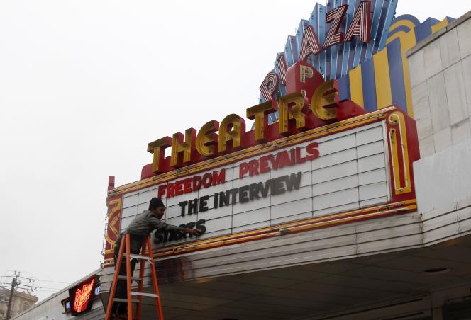 Depuis que Sony a accepté de sortir le film, différents cinémas se sont déclarés candidats à travers le pays, comme Le Plaza Atlanta, à Atlanta (Georgie).