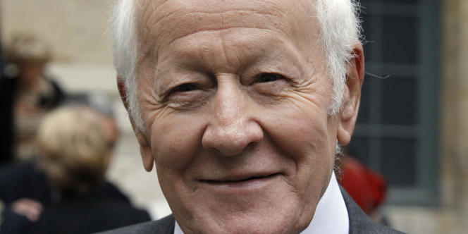 Jacques Chancel, en octobre 2011.