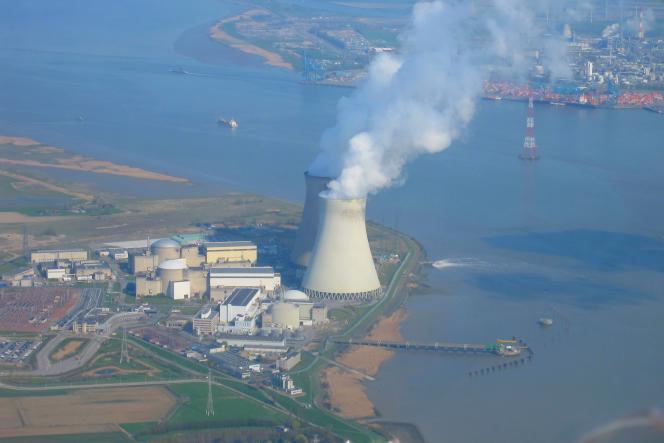 La centrale nucléaire de Doel, en Belgique.