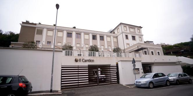 Des millions d'euros auraient disparu dans la rénovation de l'hôtel Il Cantico à Rome.