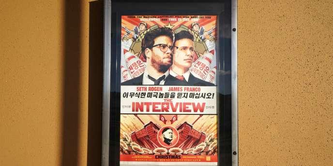 L'affiche de « The Interview ».