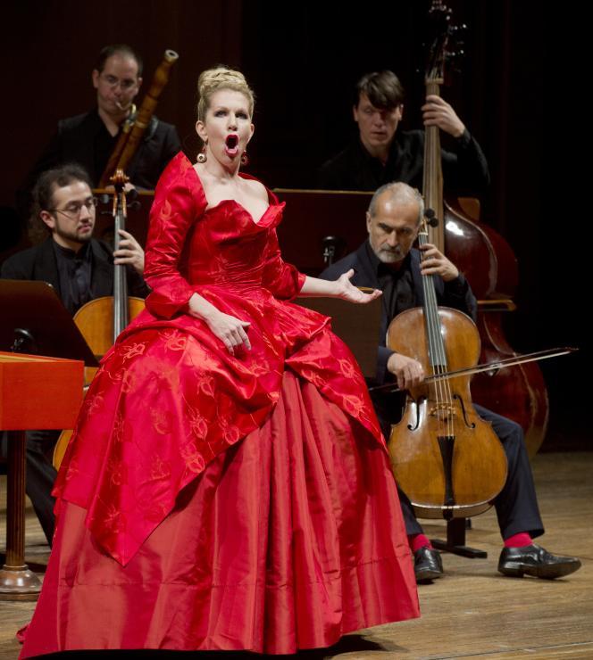 La soprano américaine Joyce DiDonato le 5 novembre 2013, à Prague.