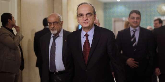 Hadi Bahra est le chef de la Coalition nationale syrienne.