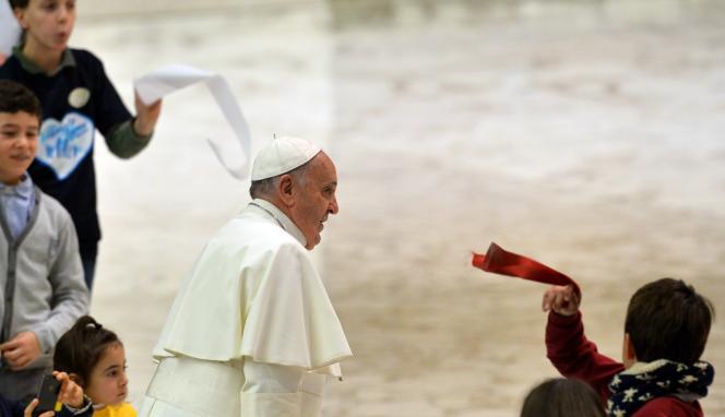 Le pape François le 28 décembre.