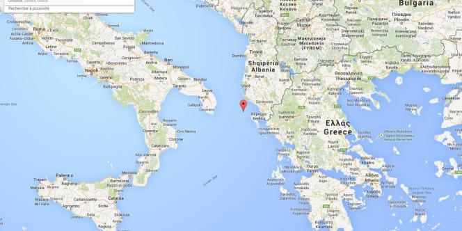 Le «Norman Atlantic» a envoyé un signal de détresse alors qu'il se trouvait à33miles nautiques de la petite île grecque d'Othoni.