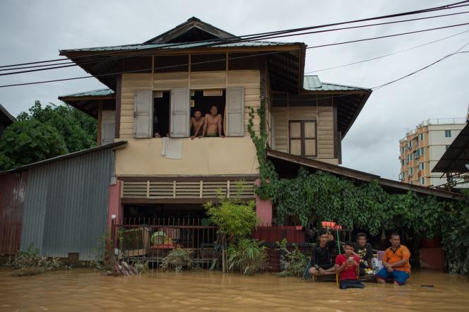 A Kota Bharu,capitale de l'Etat du Kelantan, dimanche 28 décembre.