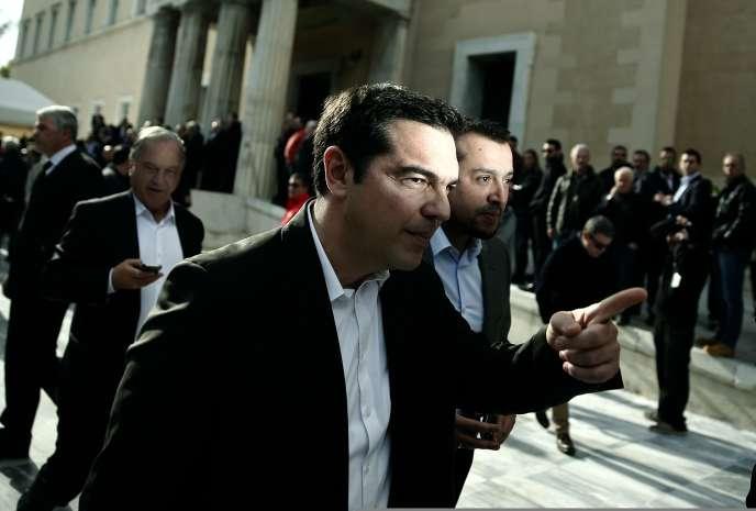Alexis Tsipras, le  29 décembre.