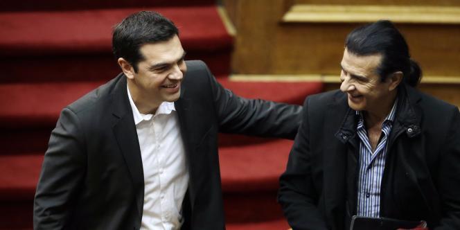 Alexis Tsipras, leader du parti de gauche radicale Syriza, le 29 décembre.