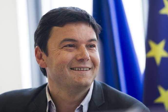 Thomas Piketty le 13 mars 2013 à l'Assemblée.