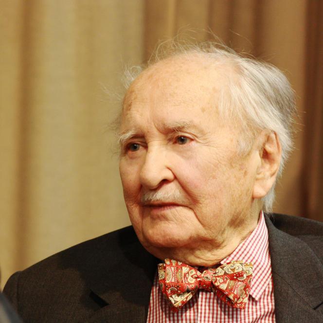 Robert Chambeiron était l'un des derniers témoins de la première réunion du Conseil national de la Résistance.