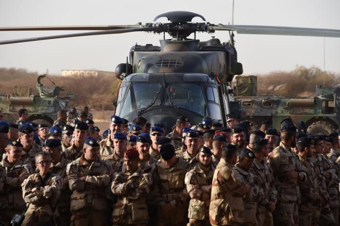 Les militaires français de l'opération