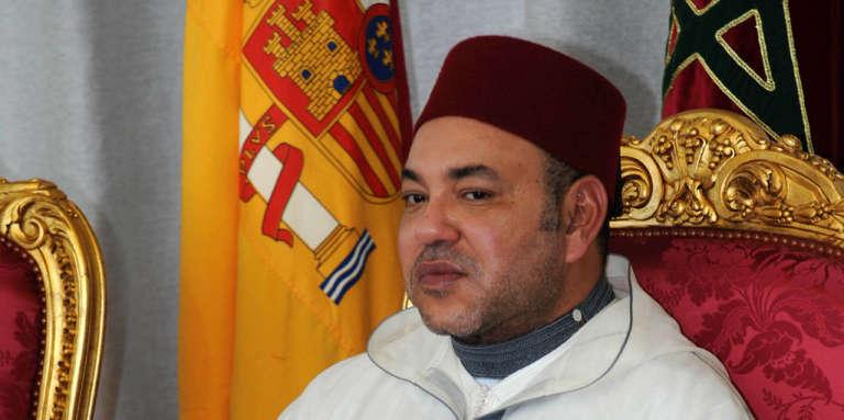Le roi du Maroc Mohammed VI, en juillet 2013.