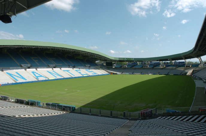 Vue du stade de la Beaujoire à Nantes.