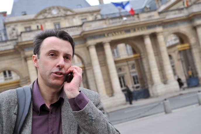 Jean-Hugues Matelly, à l'origine de Gend XXI, à Paris, en 2010.