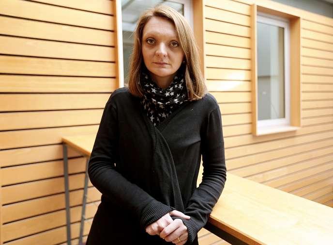 Rachel Lambert, la femme de Vincent Lambert, le 20 décembre 2014 à Reims.