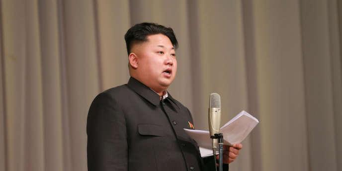 Le leader coréen Kim Jong-Un.